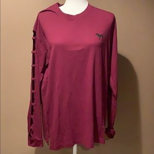 Pink long sleeve Tshirt -